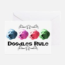 New Doodles Rule! Greeting Cards (Pk of 10)