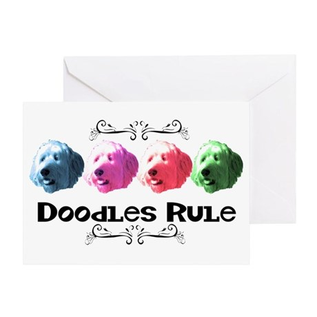 New Doodles Rule! Greeting Card
