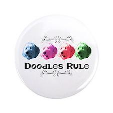 "New Doodles Rule! 3.5"" Button"