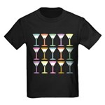 Pop Art Martini Kids Dark T-Shirt