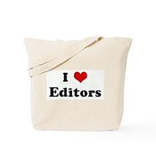 I Love Editors Tote Bag