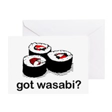 got wasabi? Greeting Card