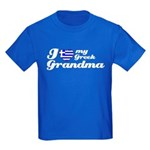 I love my Cuban Grandma Kids Dark T-Shirt