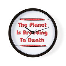 Breeding To Death Wall Clock