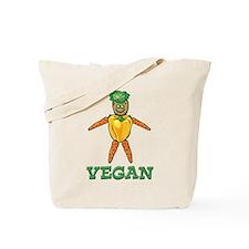 Funny Vegan Tote Bag