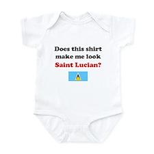 Make Me Look Saint Lucian Infant Bodysuit