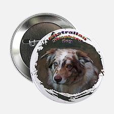 "Australian Shepherd Dog 1 2.25"" Button"