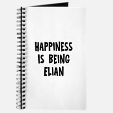 Happiness is being Elian Journal