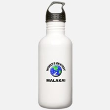 World's Okayest Malaka Water Bottle