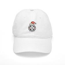 Firefighter Santa Baseball Cap