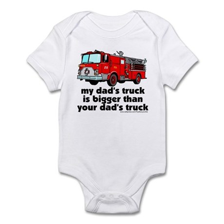 ...bigger than your dad's tru Infant Bodysuit
