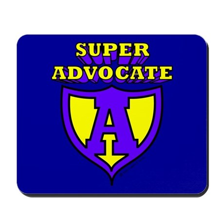 Super Advocate Mousepad
