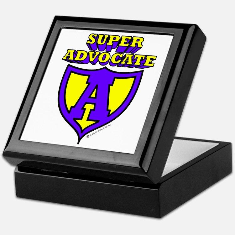 Super Advocate Keepsake Box