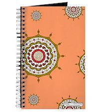 Mehndi Fantasy Gold Journal