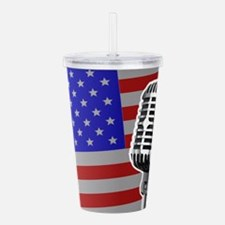 Stars And Stripes Micr Acrylic Double-wall Tumbler