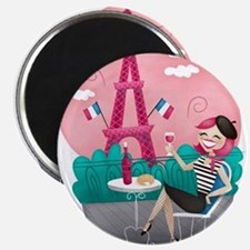 Je T'aime Paris Magnets