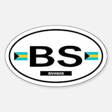 Bahamas 2F Oval Decal