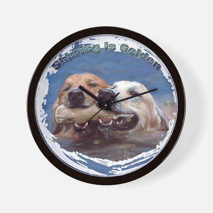 Golden Retriever - Sharing is Wall Clock