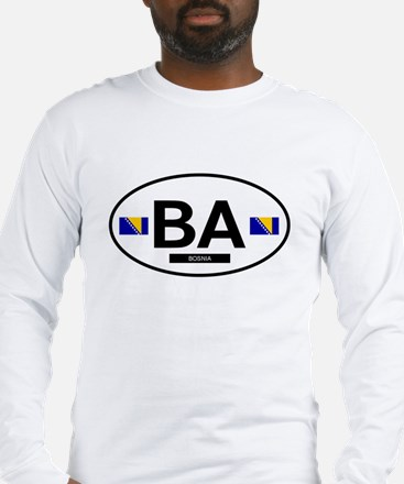 Bosnia Herzegovina 2F Long Sleeve T-Shirt