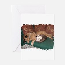 Punk and Poli Greeting Cards (Pk of 10)