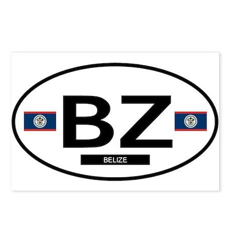 Belize 2F Postcards (Package of 8)
