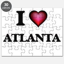 I love Atlanta Georgia Puzzle