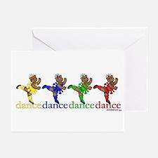 Dancing Ballerina Bears Greeting Cards (Package of