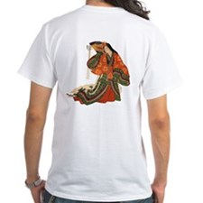Shirt Logo on Front, Kimono on Back