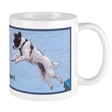 Portuguesse Water Dog Can Fly Mug