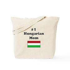 #1 Hungarian Mom Tote Bag