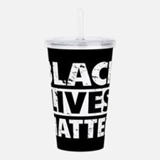 Black Lives Matter Acrylic Double-wall Tumbler