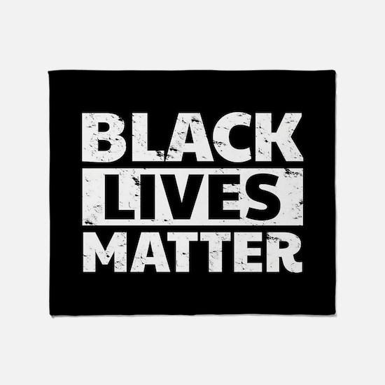 Black Lives Matter Throw Blanket