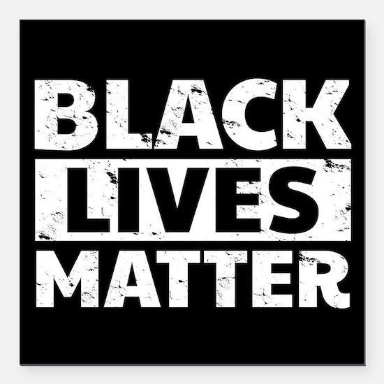 """Black Lives Matter Square Car Magnet 3"""" x 3"""""""