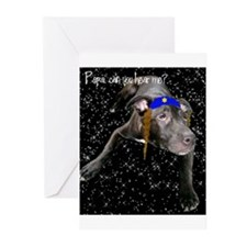 Yentle Dog Chanukah Cards (Pk of 10)