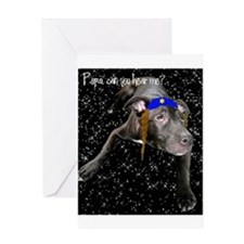 Yentle Dog Hanukkah Card