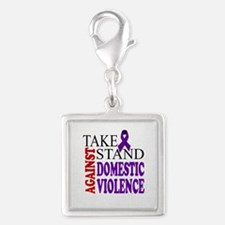 Take a Stand Against Domestic Violence Charms