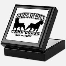 Powerful Cane Corso Keepsake Box