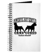 Powerful Cane Corso Journal
