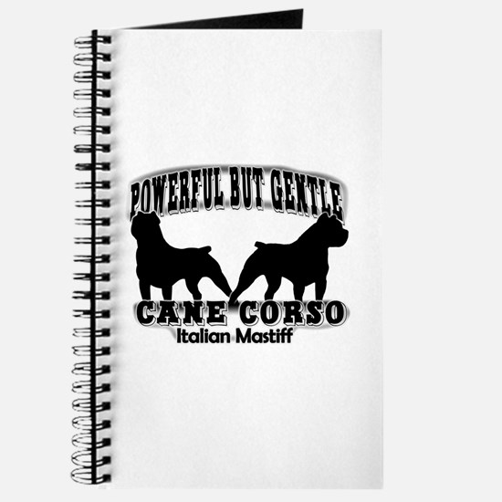 Powerful Cane Corso Journal