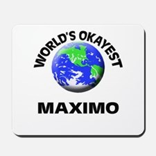 World's Okayest Maximo Mousepad