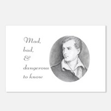 Byronic Postcards (Package of 8)