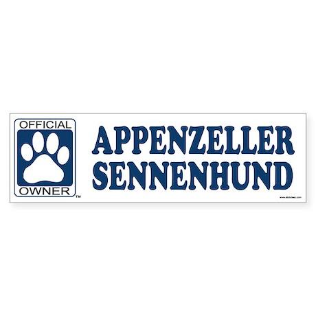 APPENZELLER SENNENHUND Bumper Sticker