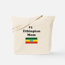 #1 Ethiopian Mom Tote Bag