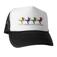Dancing Ballerina Bears Trucker Hat
