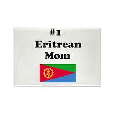 #1 Eritrean Mom Rectangle Magnet