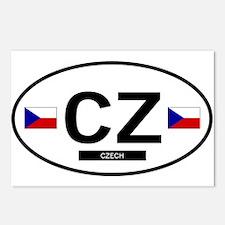 Czech Republic 2F Postcards (Package of 8)