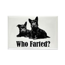 Who Farted? Rectangle Magnet