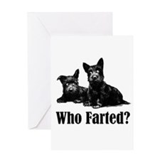 Who Farted? Greeting Card