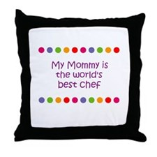 My Mommy is the world's best  Throw Pillow