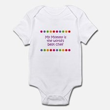 My Mommy is the world's best  Infant Bodysuit